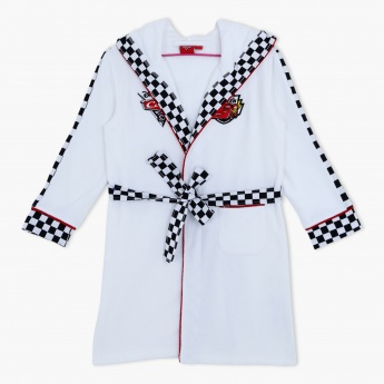 Cars Printed Bath Robe