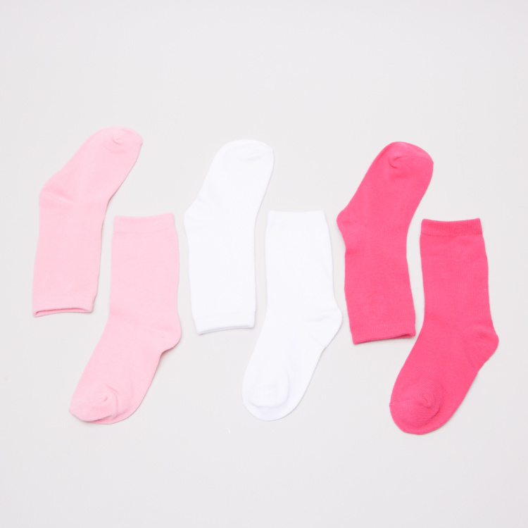 Juniors Basic Socks - Set of 3