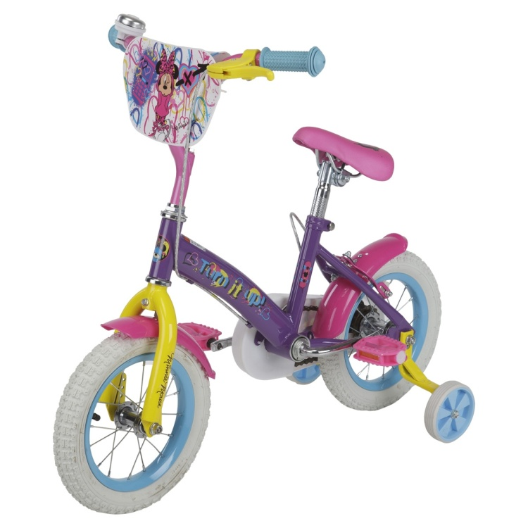 Minnie Print Bicycle