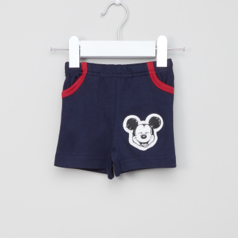 Mickey Mouse Printed Vest with Shorts