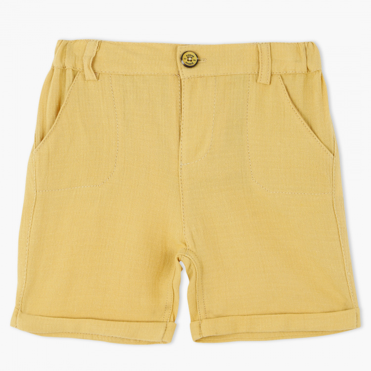 Giggles Shorts with Button Closure