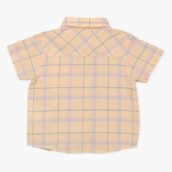 Eligo Chequered Short Sleeves Shirt