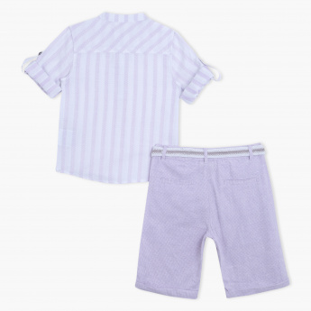 Eligo Shirt and Shorts Set