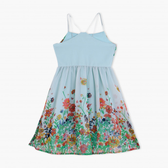 Juniors Floral Print Dress
