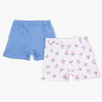 Juniors Shorts with Elasticised Waistband – Set of 2