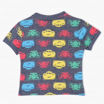 Cars Printed Crew Neck T-Shirt