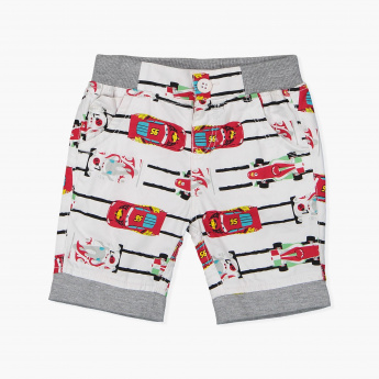 Cars Printed Shorts