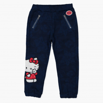 Hello Kitty Full Length Jog Pants with Elasticised Waistband