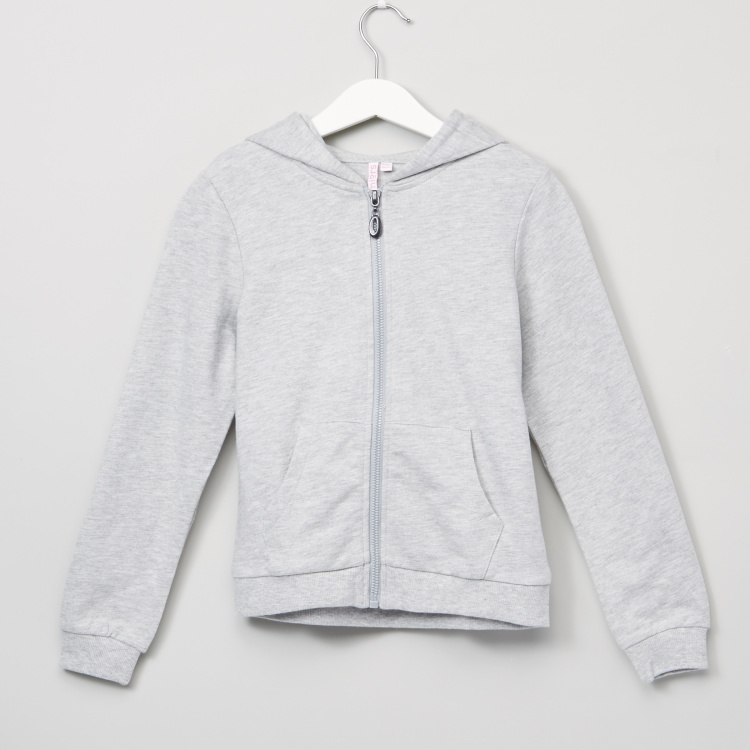Juniors Pocket Detail Long Sleeves Jacket