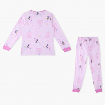 Juniors Printed T-Shirt and Jog Pants - Set of 2