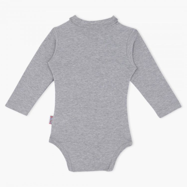 Juniors Printed Turtle Neck Bodysuit