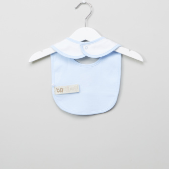 Giggles Embroidered Detail Bib
