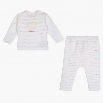 Giggles Printed T-Shirt and Pyjama Set