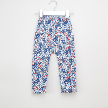 Juniors Floral Printed T-shirt and Pyjama Set