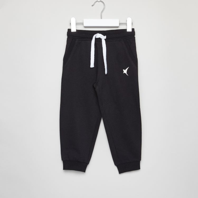 Juniors Printed Joggers with Drawstring Closure