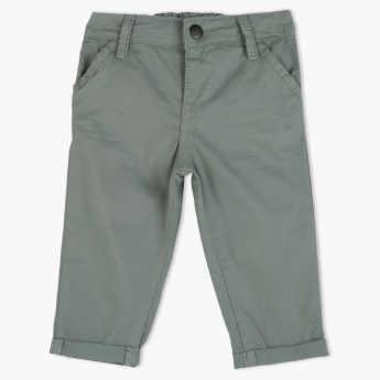 Juniors Full Length Pants with Elasticised Waistband