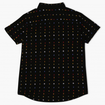 Posh Printed Short Sleeves Shirt