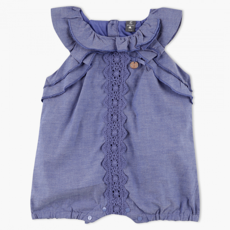 Giggles Embroidered Sleeveless Top