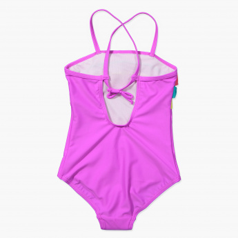 Juniors Ruffle Detail Swimsuit
