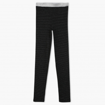 Posh Full Length Leggings with Elasticised Waistband