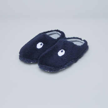 Juniors Plush Slides