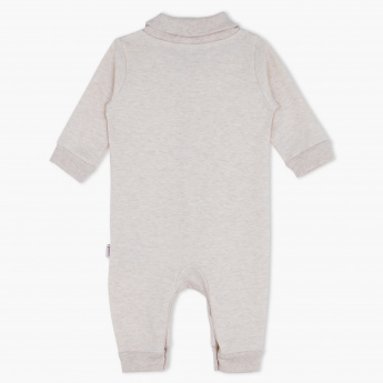 Juniors Long Sleeves Sleepsuit with Button Placket