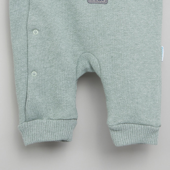 Juniors Long Sleeves Hooded Sleepsuit