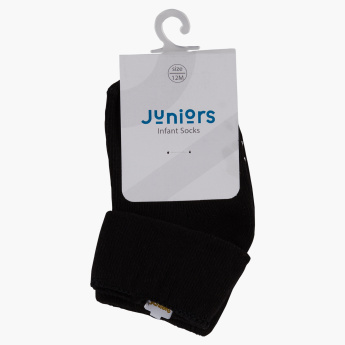 Juniors Socks with Rolled Cuffs