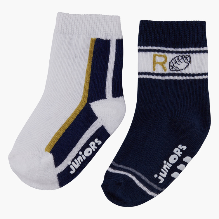 Juniors Printed Socks - Set of 2