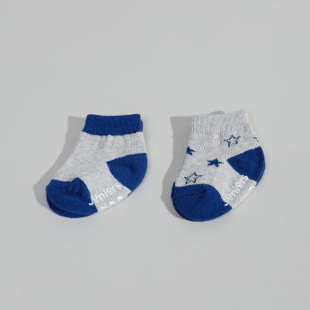 Juniors Infant 2-Piece Ankle-Length Printed Socks