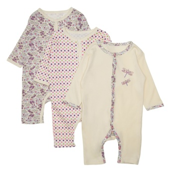 Juniors Printed Sleepsuit - Set of 3