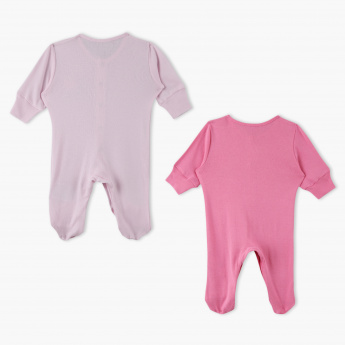 Juniors Printed Sleepsuit - Set of 2