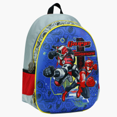 Power Rangers Beast Morphers Printed Backpack - 14 inches