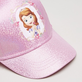 Sofia the First Printed Cap with Hook and Loop Closure
