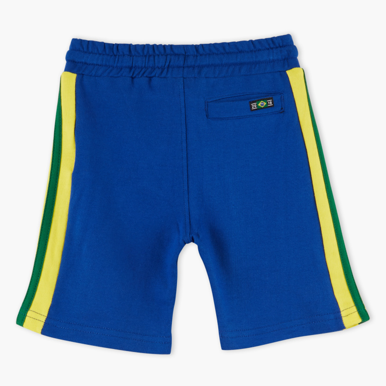 Juniors Printed Shorts with Pocket Detail and Elasticised Waistband