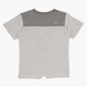 Eligo Henley Neck Short Sleeves T-Shirt