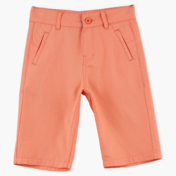 Juniors Twill Shorts