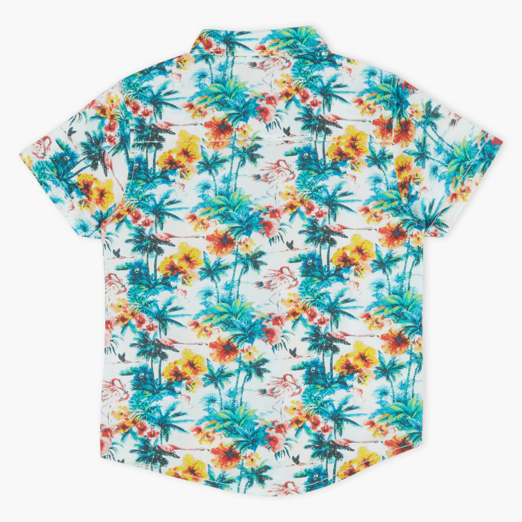 Juniors Printed Short Sleeves Shirt