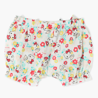 Hello Kitty Printed Shorts with Elasticised Waistband