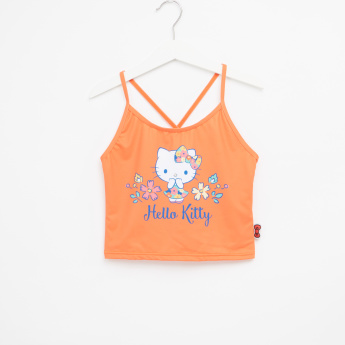 Hello Kitty Printed Tank Top with Brief