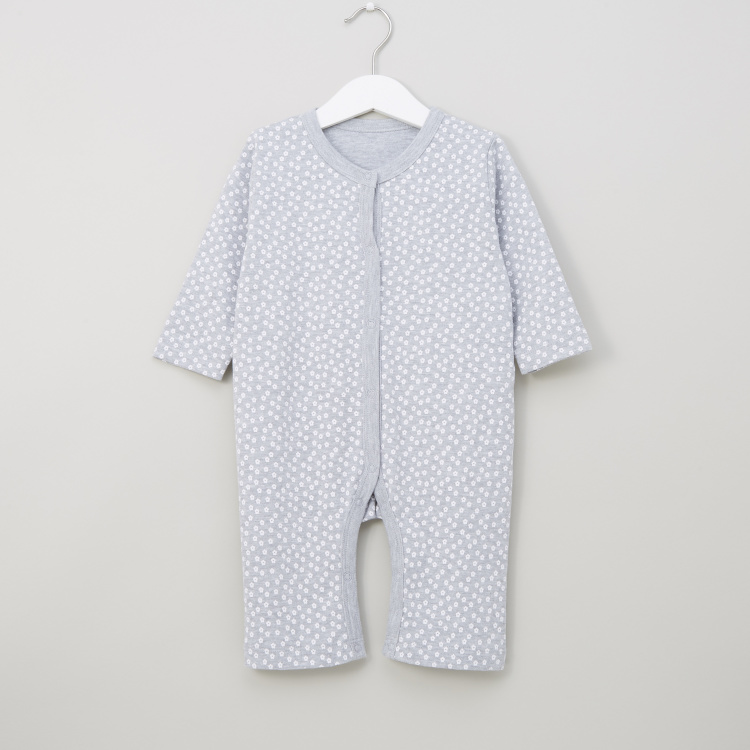 Juniors Printed Sleepsuits - Set of 3