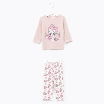 My Little Pony Printed T-Shirt and Pyjama Set