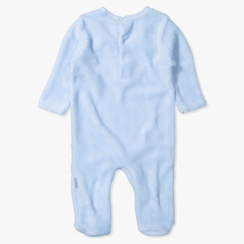 Juniors Embroidered Long Sleeves Sleepsuit