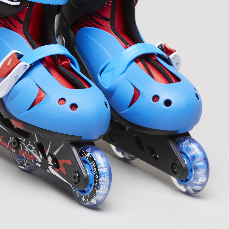 Juniors Adjustable 3-Wheel Inline Skates