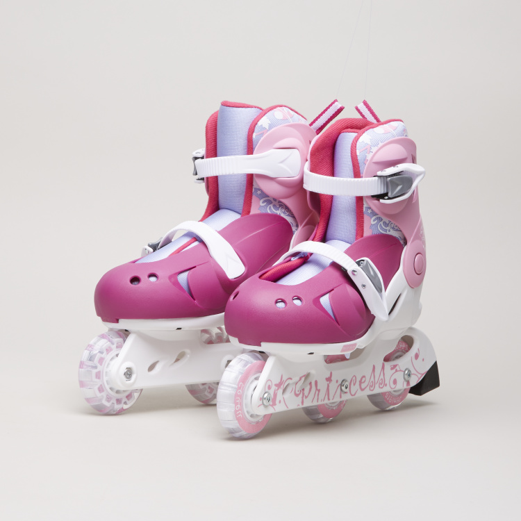 Juniors 3-Wheel Inline Skate with Adjustable Straps