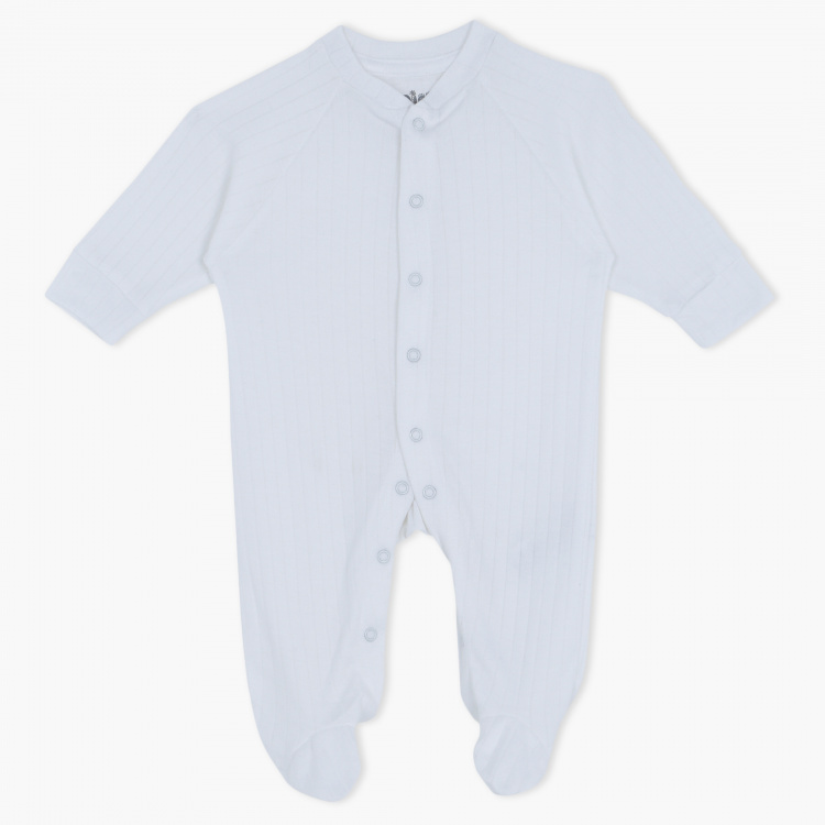 Juniors Textured Sleepsuit