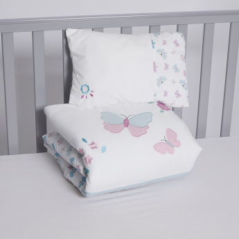 Juniors Butterfly Printed 2-Piece Comforter Set