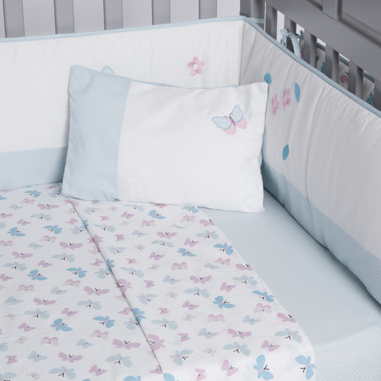 Juniors Butterfly Printed 5-Piece Comforter Set