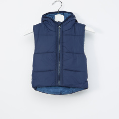 Juniors Gillet With Hood