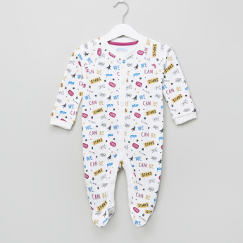 Juniors Long Sleeves Closed Feet Romper - Set of 2